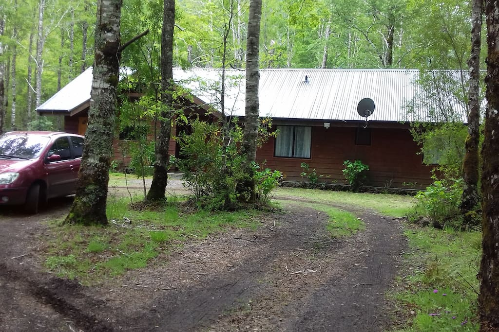 Casa, entrada principal