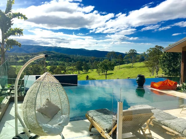Breathtaking hinterland Gold Coast - Mount Nathan - Rumah