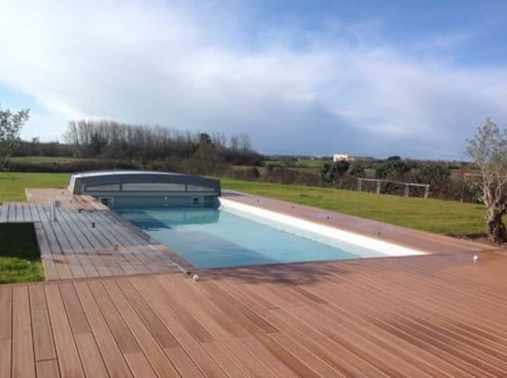 Entre La Baule et Guérande Maison avec piscine