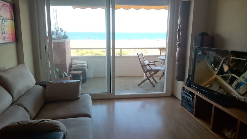 habitación delante de la playa. In front the beach - Castelldefels - Appartement