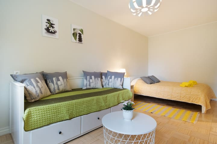 Bright and quiet studio in the heart of Tallinn