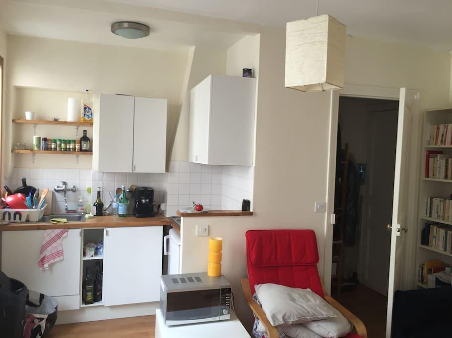 Coin cuisine / kitchen corner