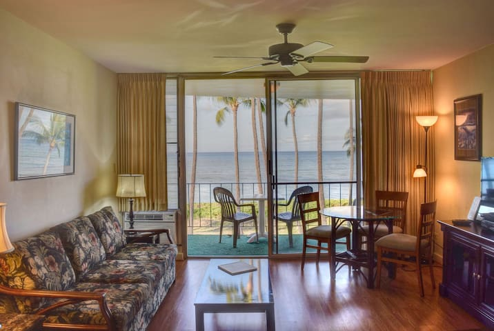Fantastic ocean view- enjoy sunset on the lanai (Hkok 309)