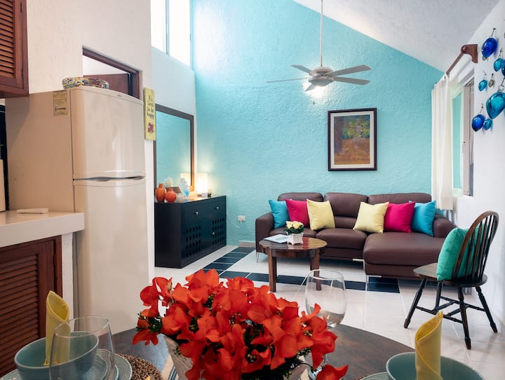 Casita Caracol, cozy apartment on the beach