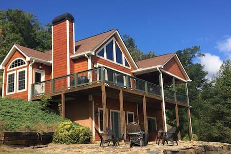Upscale Mountain Getaway! - Hayesville - House