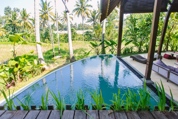 Eco rice paddy retreat-red room