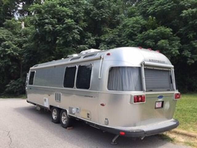 Airstream Luxury Camping