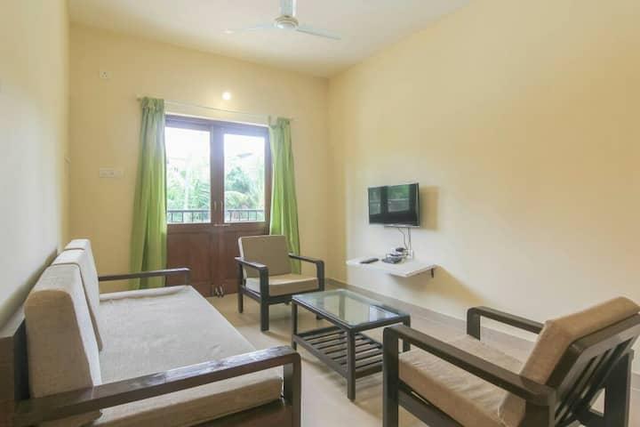 2# Bedroom Apartment with Pool at Baga Arpora.