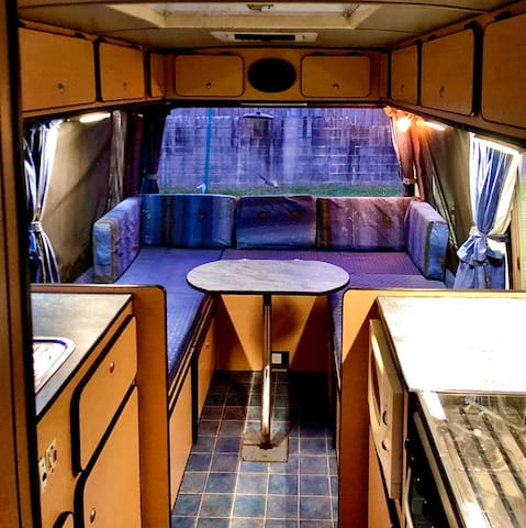 TRUE BYRON STYLE! Converted bus/studio + outdoor