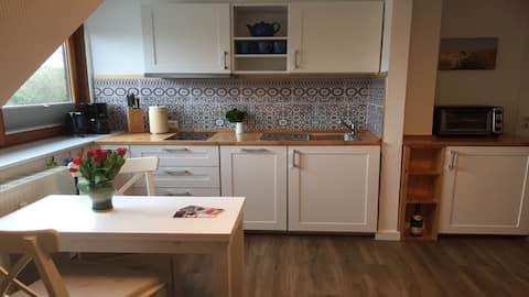 Wunderschöne Maisonette-Wohnung in Norddorf