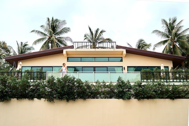 seaview 2br villa srithanu(private,new)