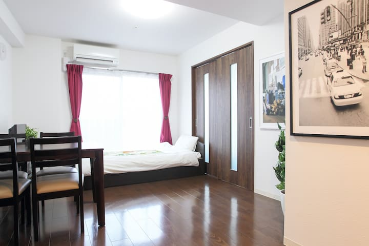 New❤ 15min from Namba/Dotonbori! LF-301 - 大阪市 - Apartemen