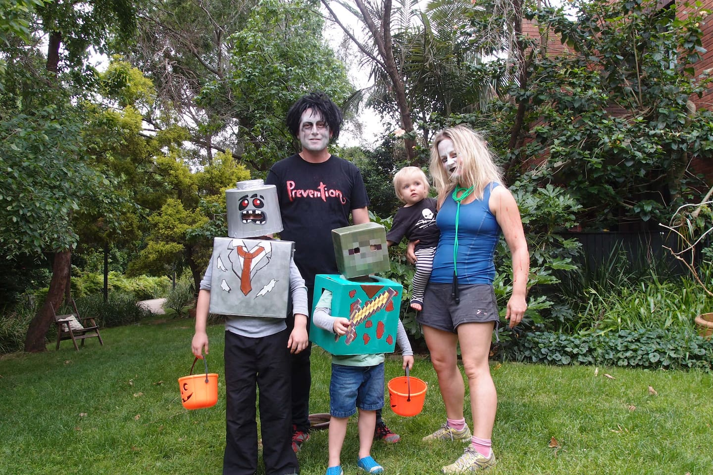 Our Family at Halloween :)