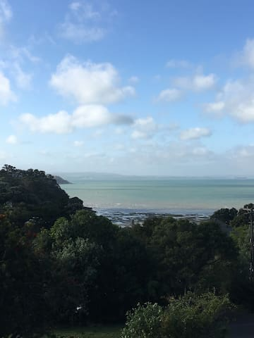 A Blissful View of the Sea on Waiheke Island - Auckland - Maison