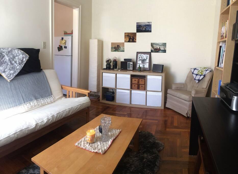Living Room (futon shown)