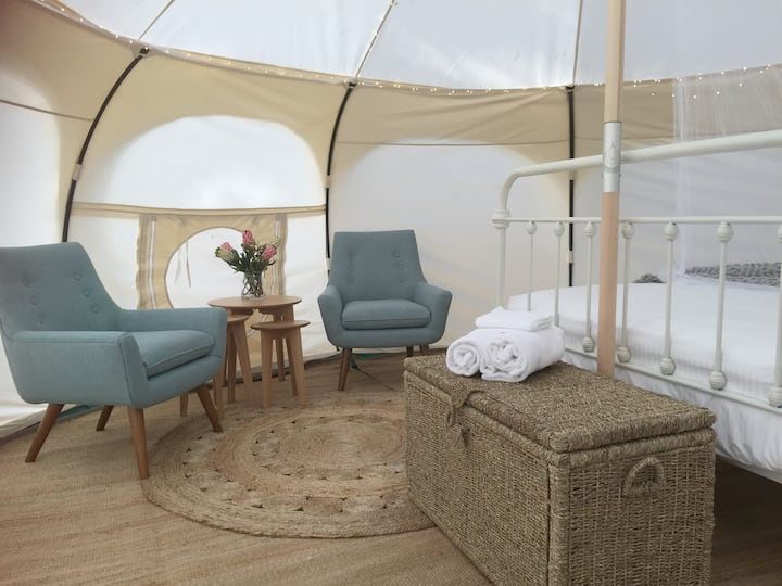 Daylesford Glamping | Harmony | Luxury Bell Tent