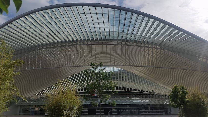 Guillemins Liège Appartment