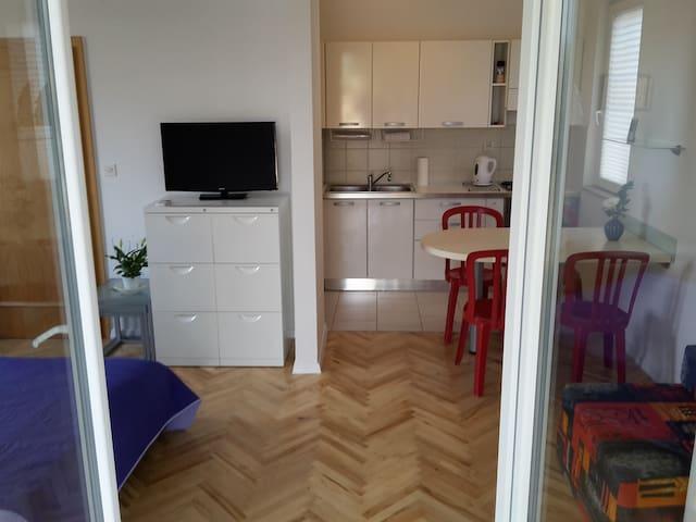 Ground floor apartment with open terrace (2+2) - Pašman - Leilighet