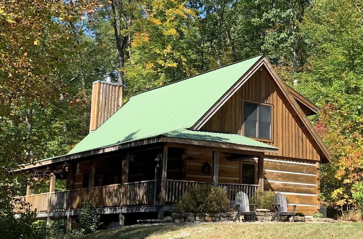 Deer Dance Log Cabin
