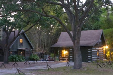Log Cabin In The Woods. - Palmetto
