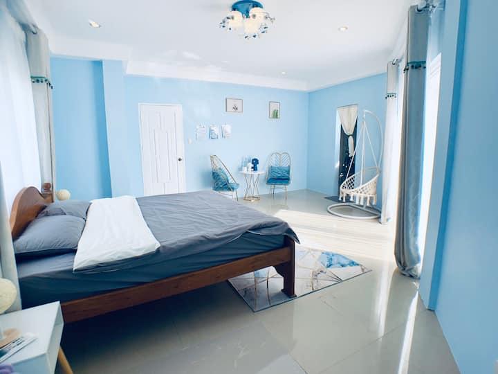 Coral Paradise Home(珊瑚秘境民宿)豪华地中海大床房(No.2)