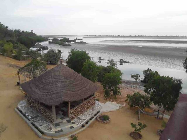 Fimelatim@Tima -Villa entière en bordure de lagune