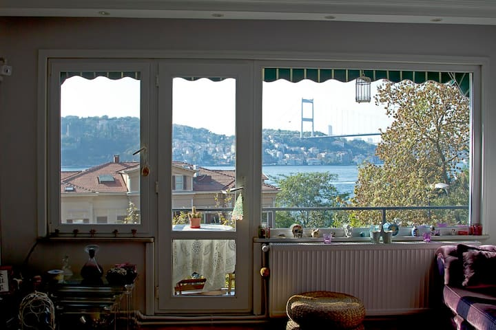 AMAZİNG BOSPHORUS VİEWBOUTIQUEFLAT