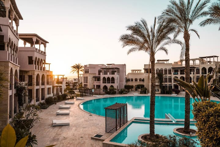 Talabay Aqaba, one-bedroom apartment, Free-Parking
