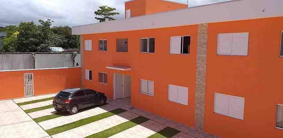 Casa em Boracéia Cond Fechado, 2 quadras da praia