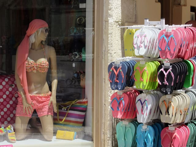Umgebung Shopping in Rethymnon