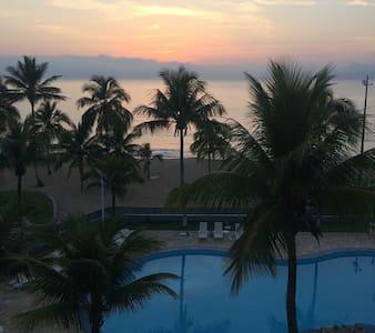 Apto completo com vista para o mar - Caraguatatuba - Lägenhet