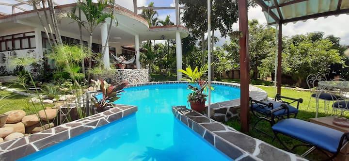 """Casa Marina -Lamas/Bungalow """" Briza azul"""""""
