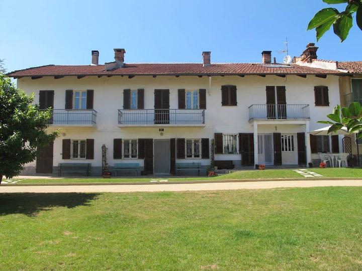 Casa nella verde campagna di Arignano