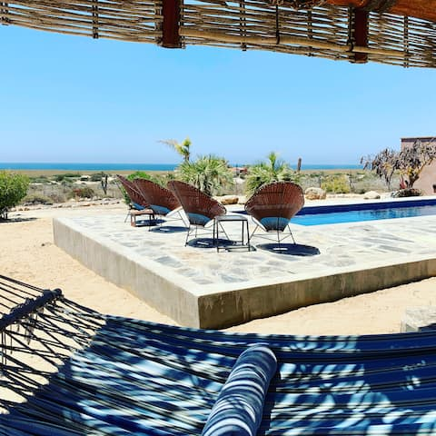 Romantic Casita with Pool, Steps from the Beach