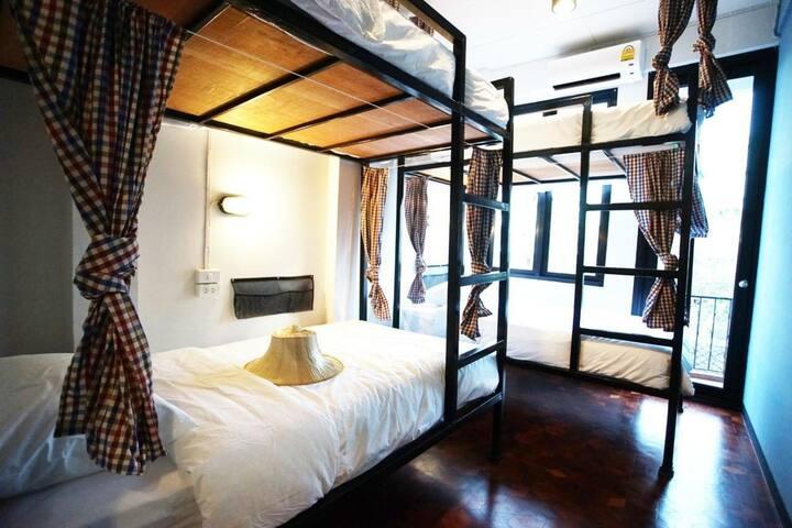 Puck Hostel Silom Bangkok Thailand
