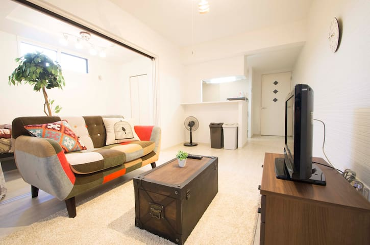ONLY FOR LADIES!/7mins to Sapporo sta/New apt A3