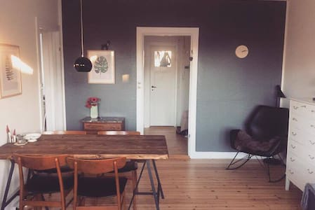 Bright 2-rooms apartment with balcony - København