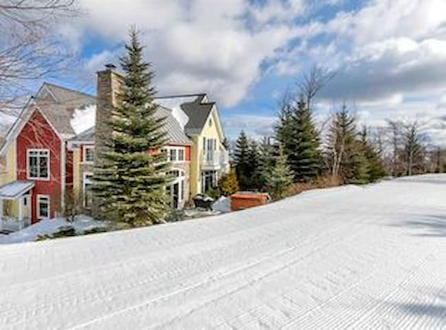 Luxury Stratton Ski In/Out Home Feet From Trails