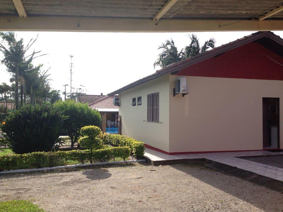 Vista da Casa Principal