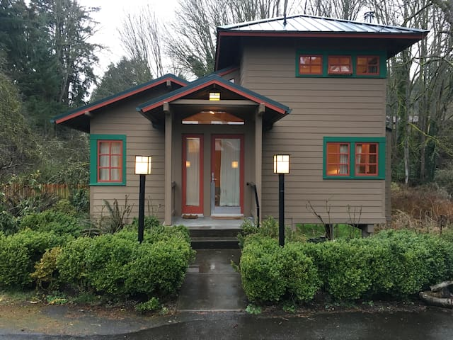 Cozy hybrid-style guesthouse - Bothell