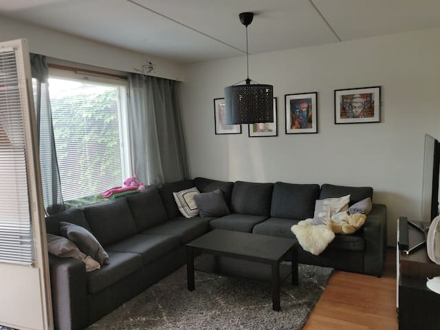 Cozy terraced house in beautiful Vuosaari