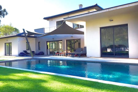 Suite dans Villa  contemporaine - Montferrier - 別荘