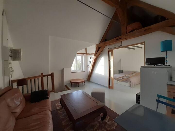 Appartement indépendant dans propriété familiale