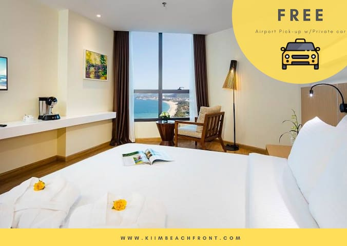 𝗞𝗶𝗶𝗠 Beachfront 4* Deluxe King Studio PrivateBeach