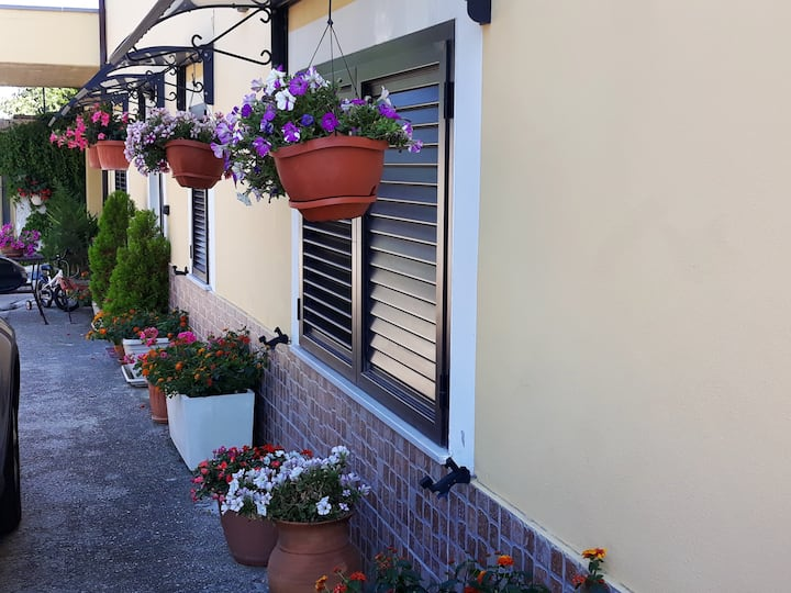 House with one bedroom in Canosa Sannita, with wonderful sea view, enclosed garden and WiFi