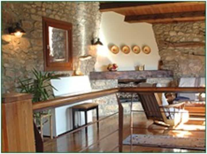 Casa rural con cocina y sauna - Cort del Pairot