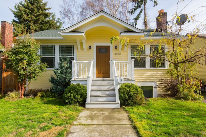 Comfy home - superb location! - Seattle - Casa