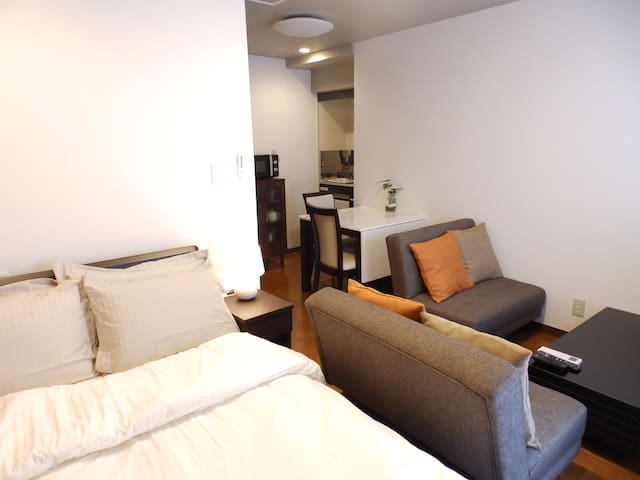 SA in Nagano Ishido semi double room
