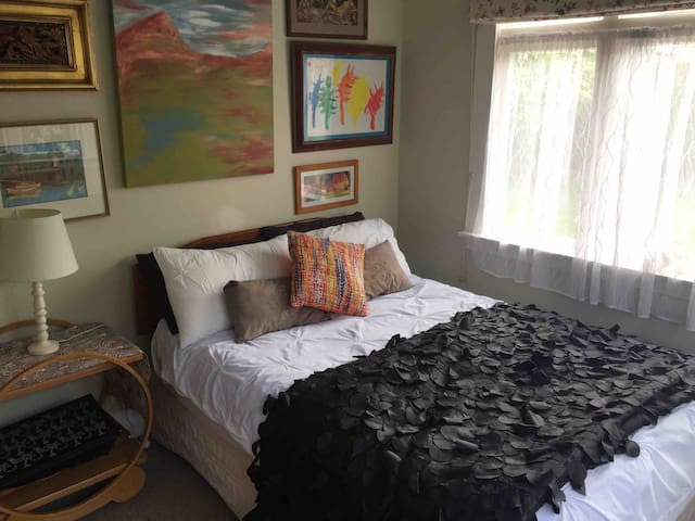 Double Bed in Character Home