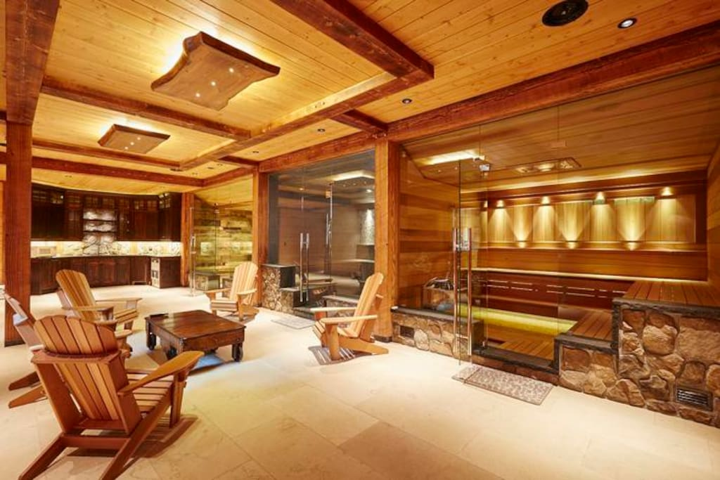 Spa - Steam, Sauna Wine Cellar